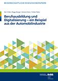 Berufsausbildung und Digitalisierung – ein Beispiel aus der Automobilindustrie