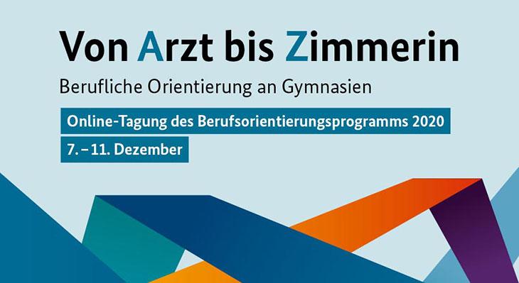 Berufliche Orientierung an Gymnasien - Livestream mit Bundesbildungsministerin Karliczek am 7.12.