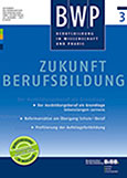 BWP 3/2017: Zukunft Berufsbildung