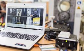 4-Kamerasystem zur Aufnahme von Prozessabläufen zur späteren Analyse