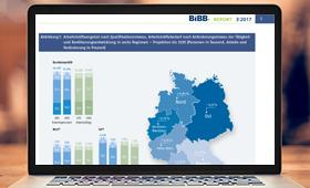 Neuer BIBB-Report zeigt sehr unterschiedliche Entwicklung der regionalen Arbeitsmärkte