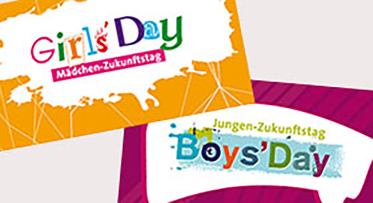 Logos vom GirlsDay und BoysDay