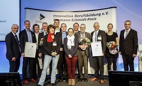 Verleihung des Hermann-Schmidt-Preises 2017: Vier Projekte ausgezeichnet