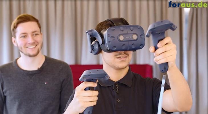 Immersives Lernen in der Ausbildung mit VR-Lernszenarien