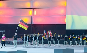 Deutsches Nationalteam bei den WorldSkills 2017