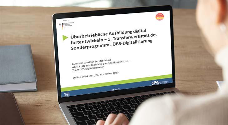 Überbetriebliche Ausbildung digital fortentwickeln: 1. Transferwerkstatt des Sonderprogramms ÜBS-Digitalisierung