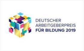 Deutscher Arbeitgeberpreis für Bildung 2019