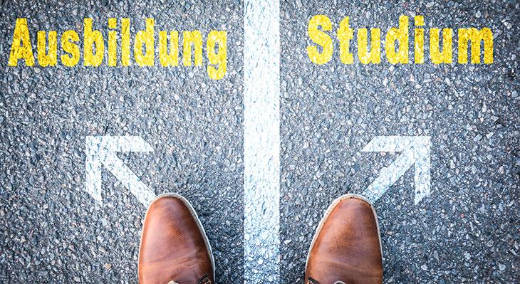 Ausbildung oder Studium?