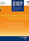 BWP 2/2016 - Forschungsdaten aus dem BIBB