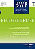 BWP 1/2017: Pflegeberufe