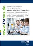 """Enquete-Kommission """"Internet und digitale Gesellschaft"""""""