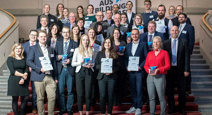 Ausbildungs-Ass: Deutschlands beste Ausbilder geehrt