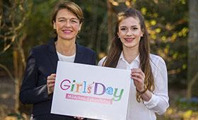 Girls'Day und Boys'Day 2018: Elke Büdenbender setzt sich für eine von Geschlechterklischees freie Berufswahl ein