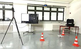 """Aufbau für den Roadafternoon mit der """"HTC VIVE"""""""