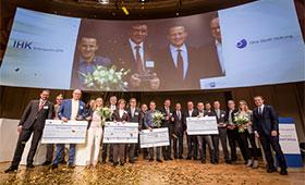 Preisverleihung IHK-Bildungspreis 2018