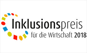 Logo Inklusionspreis für die Wirtschaft 2018