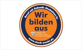 Wir bilden aus - Logo