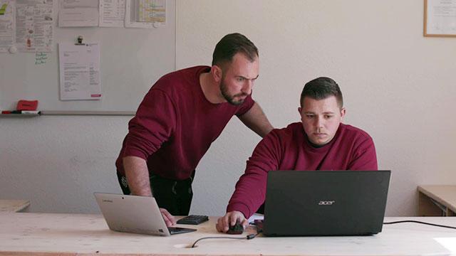 Digitale Konstruieren in der Ausbildung - Auftragsplanung digital gestützt