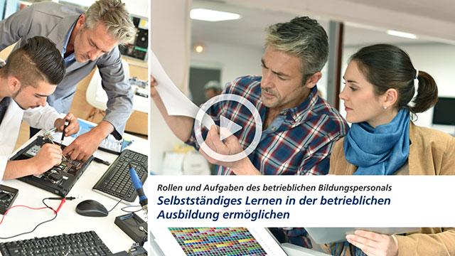 Video: Selbständiges Lernen in der betrieblichen Ausbildung ermöglichen