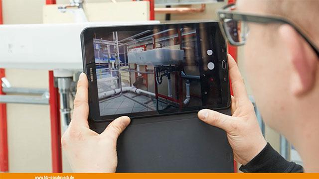 Badinstallationen mit digitalen Werkzeugen - Auftragsdurchführung