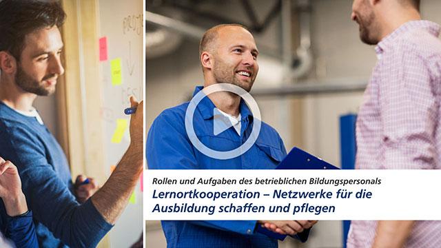 Video: Lernortkooperation - Netzwerke für die Ausbildung schaffen und pflegen